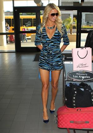 Paris Hilton arrives at LAX Airport 11/2/12