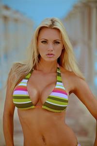 Cassandra Lynn in a bikini