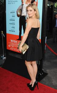 Rose McIver Wish I Was Here Los Angeles premiere June 23, 2014