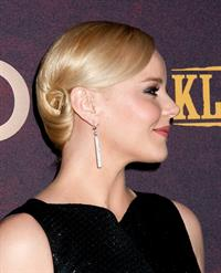 Abbie Cornish Klondike Premiere January 16, 2014