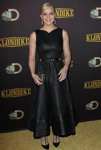 Abbie Cornish Klondike Premiere January 16, 2014