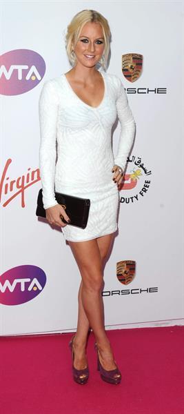 Urszula Radwańska WTA Pre-Wimbledon Party July 19, 2014