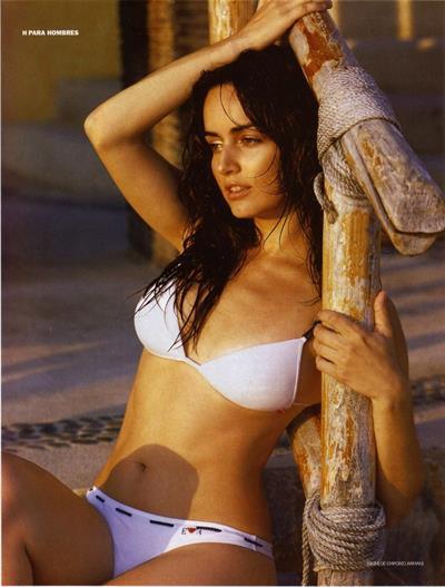Ana de la Reguera in a bikini
