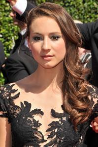 Troian Bellisario 2014 Creative Arts Emmy Awards, Los Angeles August 16, 2014