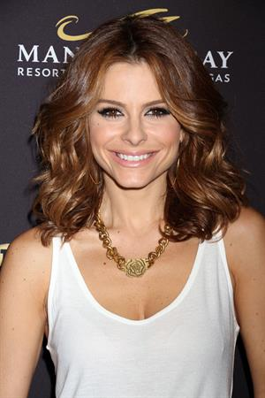 Maria Menounos Big Knockout Boxing inaugural event in Las Vegas August 16, 2014