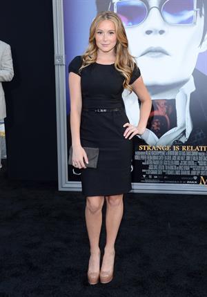 Alexa Vega at the Dark Shadows premiere in Los Angeles 7/5/2012