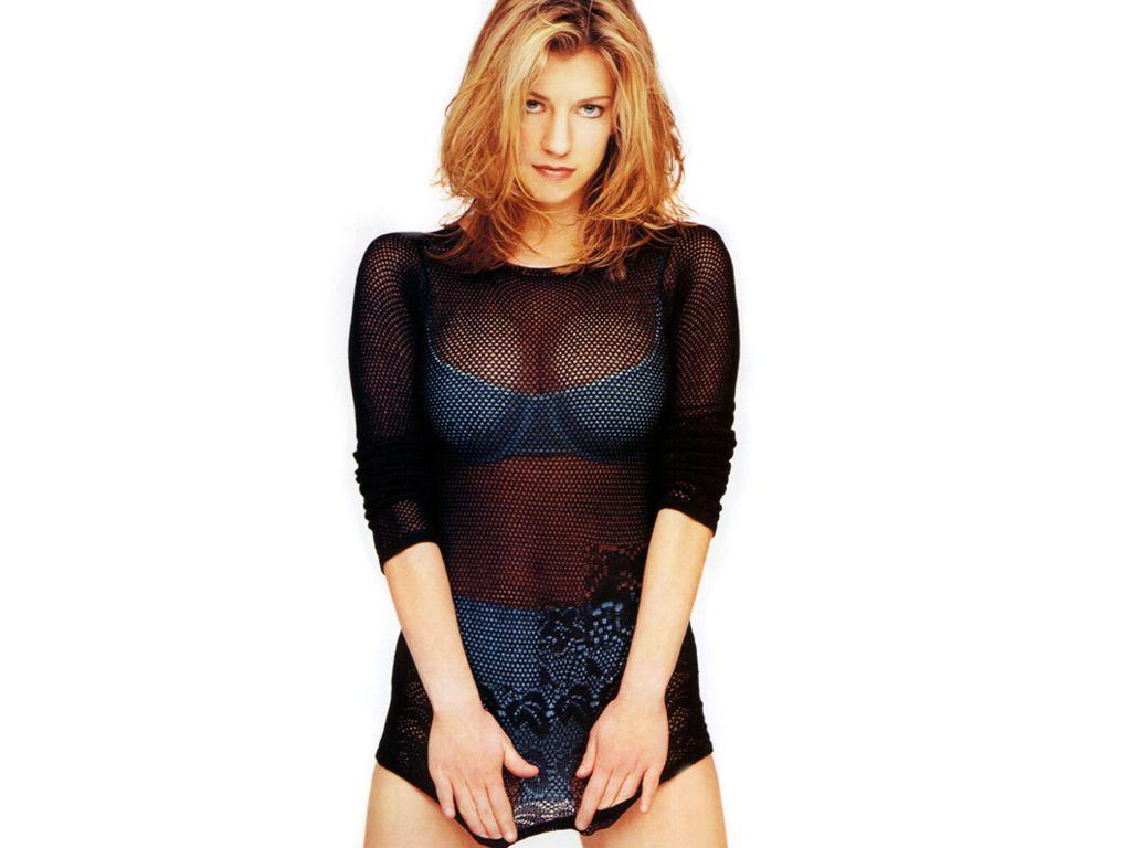 Claire Goose in lingerie