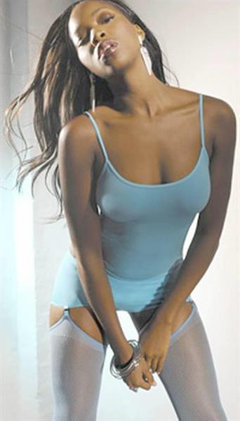 Jamelia in lingerie