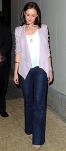Alexis Bledel at the MTV Seven Studios in New York City 11-04-2011