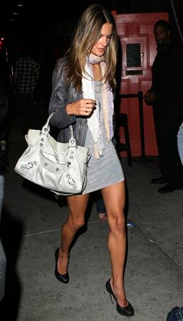 Alessandra Ambrosio at Bar Delux in Los Angeles