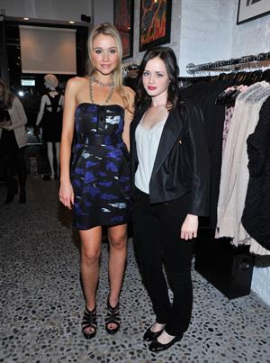 Alexis Bledel Twinkle by Wenlan Pop Up Shop opening night party