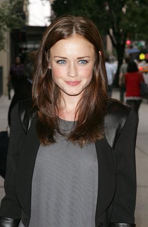 Alexis Bledel I Am Love New York Premiere on June 16, 2010
