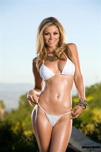 Heather Van Deven in a bikini