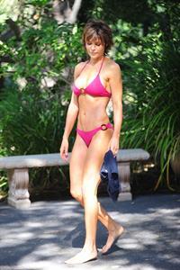 Lisa Rinna in a bikini
