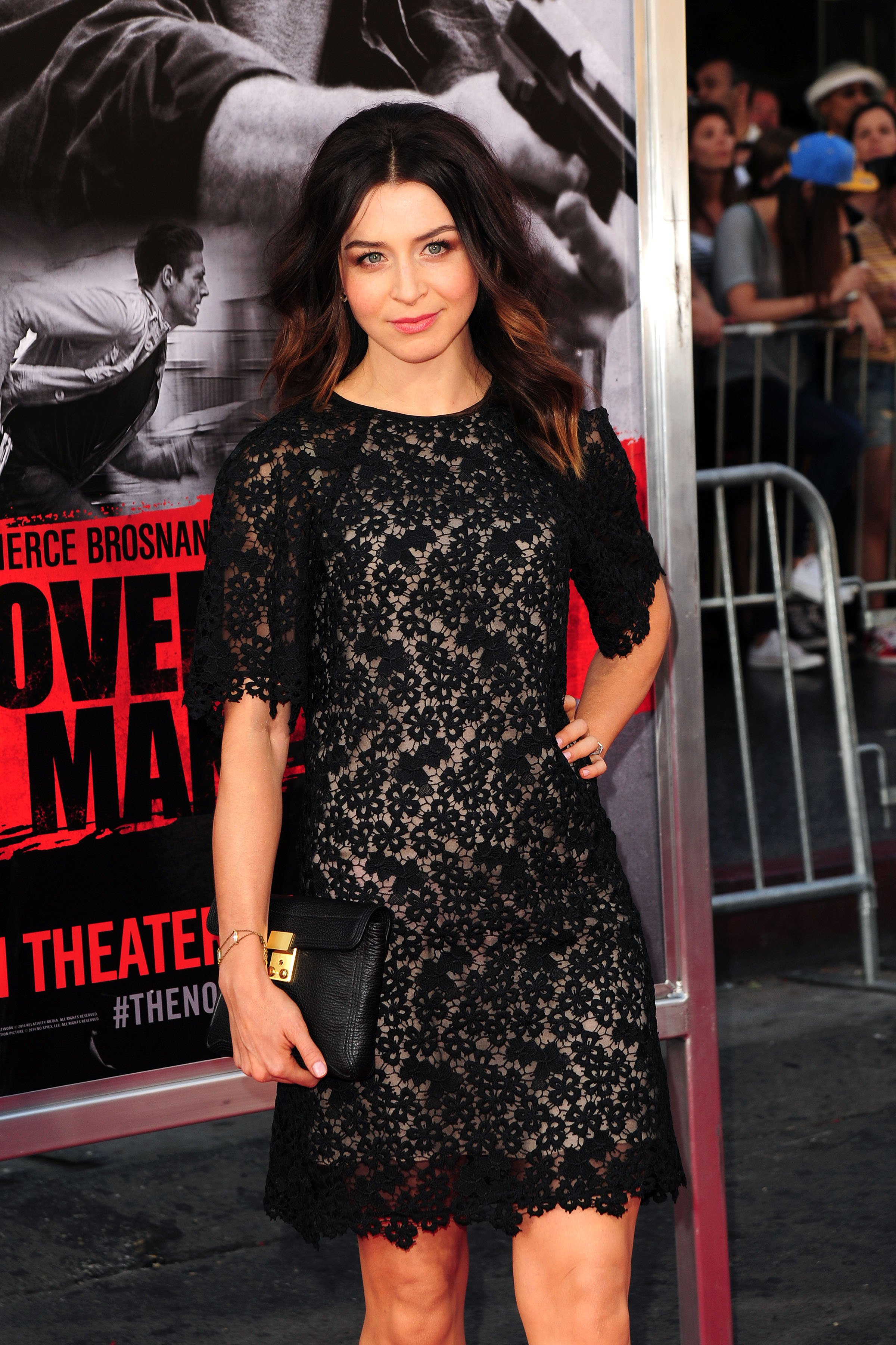 Caterina Scorsone at the premiere of The November Man at the TCL Chinese Theater on August 13, 2014 in Los Angeles
