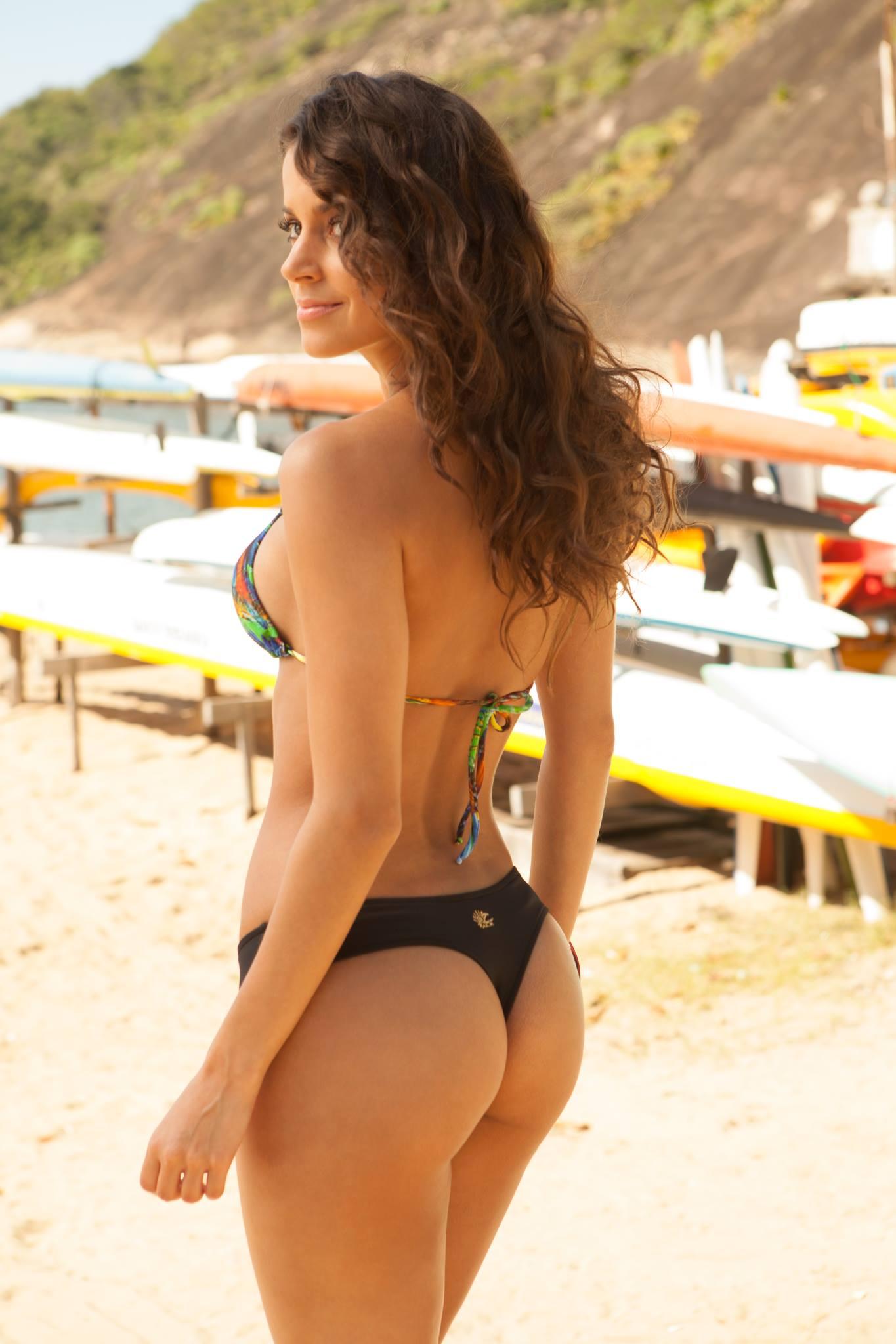Bruna Dacal in a bikini - ass