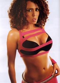 Layla El in lingerie