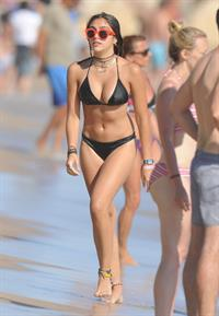 Lourdes Leon in a bikini in Cannes August 13, 2014