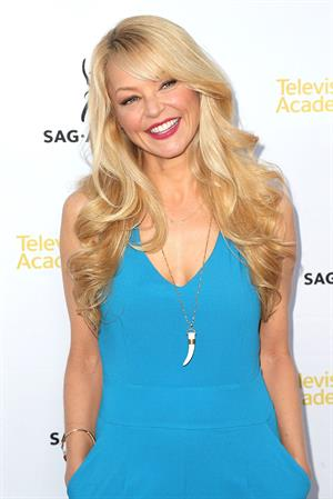 Charlotte Ross at Television Academy Dynamic Diverse: A 66th Emmy Awards Celebration of Diversity on August 12, 2014
