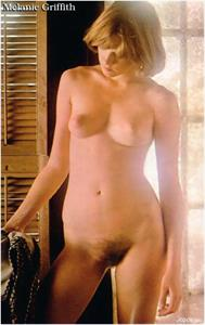 Melanie Griffith - pussy and nipples