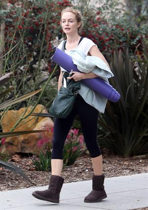 Heather Graham leaves yoga class in Santa Monica 2/8/13