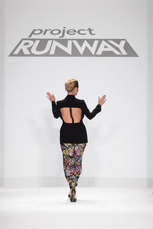 Heidi Klum Project Runway Fall 2013 Fashion Show 08.02.13