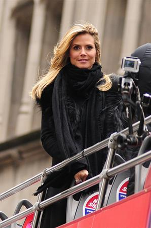 Heidi Klum at the filming of 'Germany's Net Top Model' in New York City 06.02.13