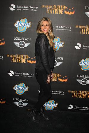 Erin Andrews attends the 4th Annual Los Angeles Haunted Hayride -  The Congregation  on October 8, 2012