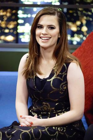 Hayley Atwell The Jonathan Ross Show, Feb 9, 2013