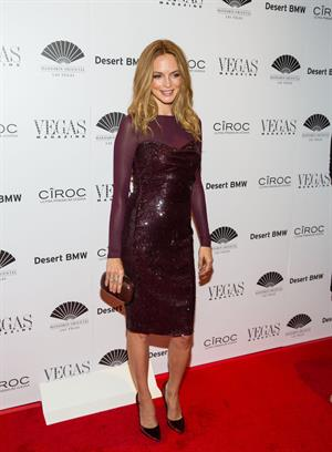 Heather Graham attends the Vegas Magazine's 10th anniversary celebration at Mandarin Oriental in Las Vegas - May 9, 2013
