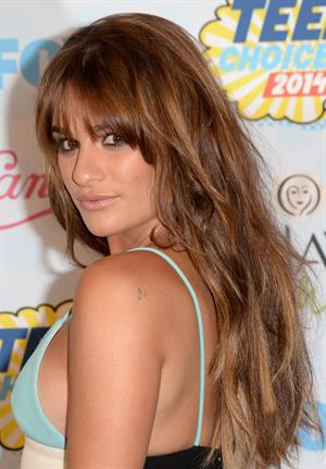 Lea Michele attending the 2014 Teen Choice Awards in Los Angeles on August 10, 2014