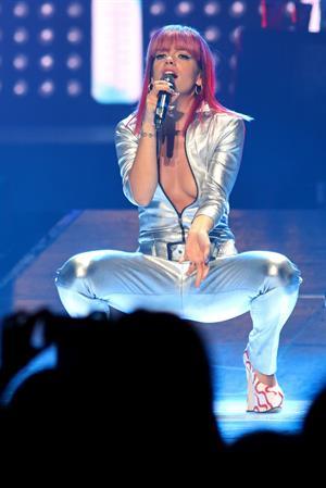 Lily Allen Concert at Nassau Coliseum, New York City