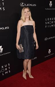 Kristen Bell attending the Lexus Short Films premiere in L.A. July 30, 2014