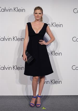 Lara Stone Infinite Loop Hosted By Calvin Klein, May 24, 2012 in Seoul, South Korea