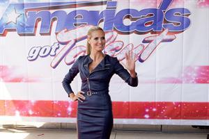 Heidi Klum attends America's Got Talent Season 8 Meet 8-5-2013