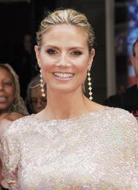 Heidi Klum at America's Got Talent Season 8 Meets The Judges Red Carpet Event in New York on April 9, 2013