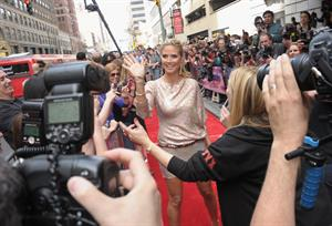 Heidi Klum at America's Got Talent Season 8 Meets The Judges Red Carpet Event in New York on April 9, 2013