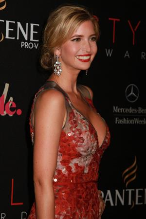 Ivanka Trump attending the 9th Annual Style Awards 9/5/12
