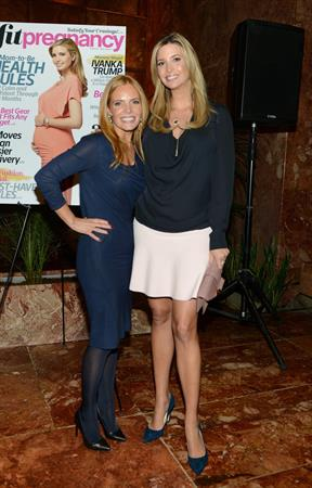 Ivanka Trump attending the Fit Pregnancy Ivanka Trump Cover Party in New York on September 17, 2013