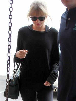 Taylor Swift in Los Angeles on October 26, 2013