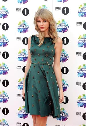 Taylor Swift attending the BBC Radio 1 Teen Awards 11/3/13