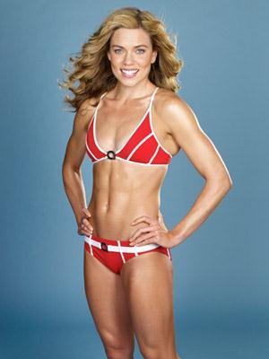 Natalie Coughlin in a bikini