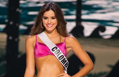 Paulina Vega in a bikini