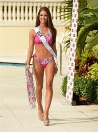 Nia Sanchez in a bikini