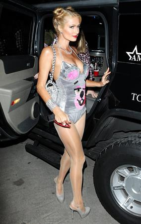 Paris Hilton Playboy Mansion Halloween Party in Los Angeles on October 26, 2013