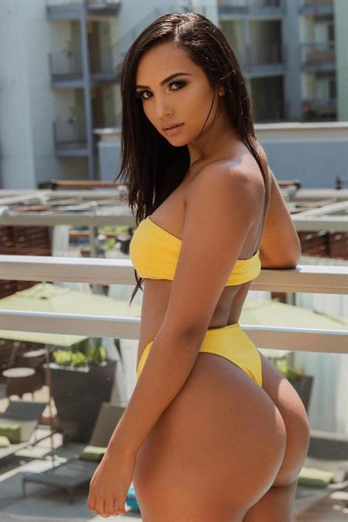Camila Bernal in a bikini - ass