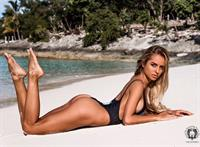 Chiara Bransi in a bikini