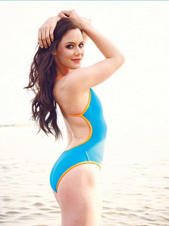 Tessa Virtue in a bikini