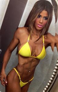 Yarishna Ayala Otero in a bikini