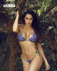 Hope Beel in a bikini